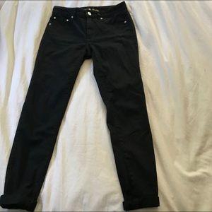 Michael Kors Selma skinny black jeans